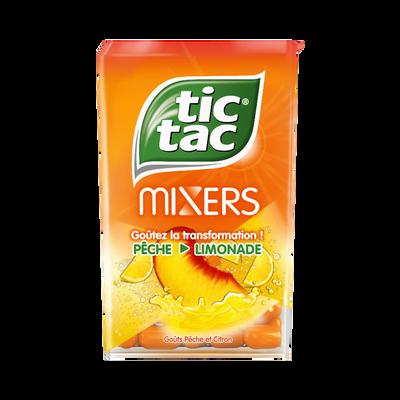 Pastilles arômatisées à la pêche et limonade TIC TAC, 49g