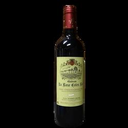 Vin rouge St Emilion grand cru la rose cote rol, 75cl