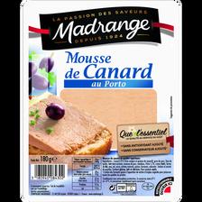 Madrange Mousse De Canard Au Porto Que L'essentiel , 180g