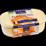 L'Angelys Crème Glacée Plombières L'angelys, Pot De 500g