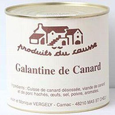 Galantine de canard, Produits du causse, 500g