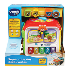 Super cube des decouvertes VTECH
