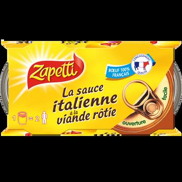 Buitoni Zapetti Sauce Italienne Lot De 4x(2x190g) + 2 Offert