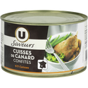 Canard Confit  4/5 Cuisses Tambourin U.saveurs Bte4/4 0,750kg