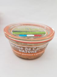 TERRINE CAILLE NATURE BOCAL