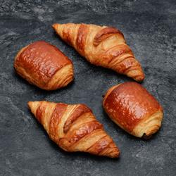 2 croissants + 2 pains au chocolat, U SAVEURS, 260g