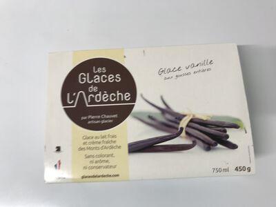 Crème glacé vanille gousse.entières Glace de l'Ardèche 450g