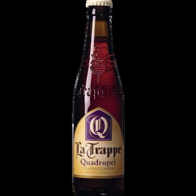 Bière Quadrupel LA TRAPPE, 10°, bouteille de 33cl