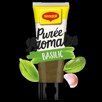 Purée d'aromates au basilic MAGGI, tube de 80g