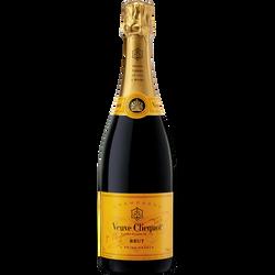 Champagne brut VEUVE CLICQUOT, bouteille de 75cl