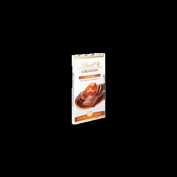 Lindt Chocolat Création Au Lait Fourré Caramel Lindt, 150g