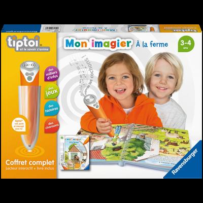 LECTEUR + MON IMAGIER RAVENSBURGER EN COFFRET COMPLET