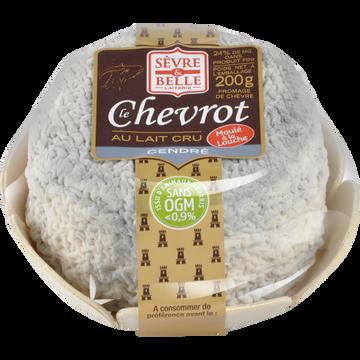Sèvre et Belle Le Chevrot Cendré Au Lait Cru De Chèvre 21% Sevre Et Belle 200g