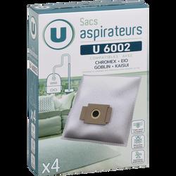 SAC ASPIRATEUR U SU6002 X4