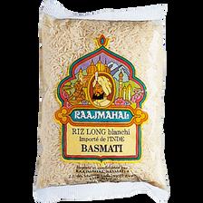 Riz basmati blanc RAAJMAHAL, sachet de 500g