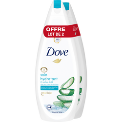 Douche soin hydratant DOVE 2X750ml