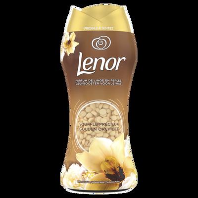 Parfum de linge en perles souffle précieux LENOR x15 doses, 210g