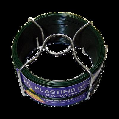 Bobine de fil plastifié n°3, 50m
