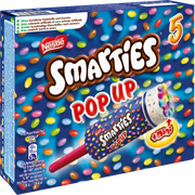 Smarties Glace Smarties Pop Up Nestle, X5