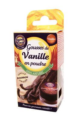 Gousses de vanille en poudre