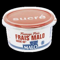 Fromage frais sucré MALO, 7% de MG, pot de 500g