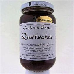 CONFITURE EXTRA QUETSCHES 420G - CHATELAIN CONFITURE
