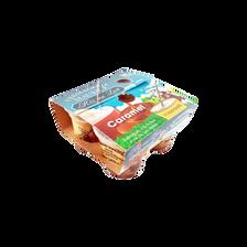 Riz au lait au caramel, FROMAGERIE MAURICE, 4x125g