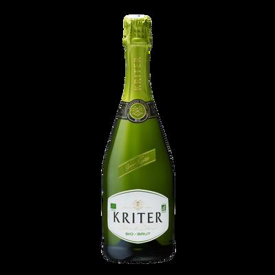 Vin mousseux brut KRITER bio, 75cl