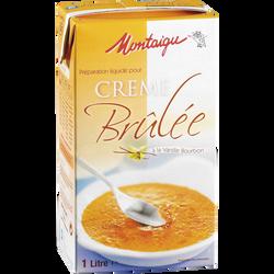 Préparation pour crème brûlée MONTAIGU, 1 litre