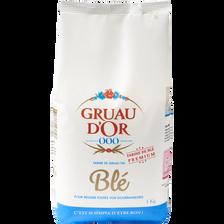 Farine blé GRUAU D'OR, paquet 1kg