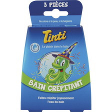 Bain crépitant TINTI, 3 sachets de 8 grammes
