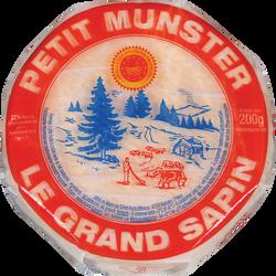 Munster au lait pasteurisé 11cm GRAND SAPIN, 27% de MG, 200g