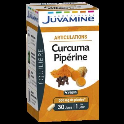 JUVAMINE curcuma piperine articulation gélules végétales x30