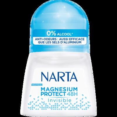 Déodorant femme magnésium protect 48h invisible 0% alcool NARTA, billede 50ml