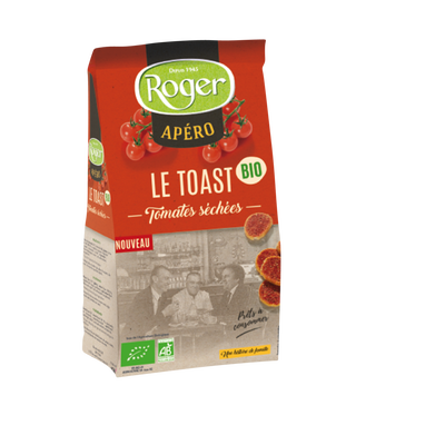 Toast tomates sechées bio ROGER, 100g