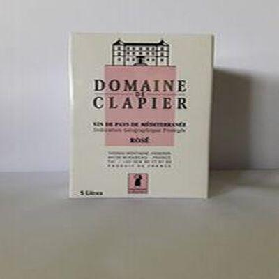 Domaine de Clapier Rosé Bib 5L