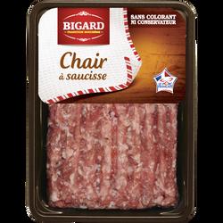Chair à saucisse, BIGARD, France, 500g