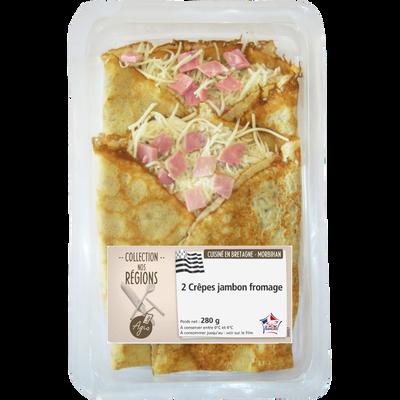 Crêpes jambon fromage AGIS, 2x140g