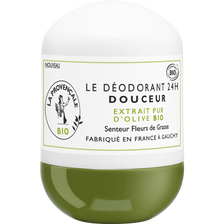 Déodorant bille fleurs de grasse bio LA PROVENCALE, bio tube de 50ml