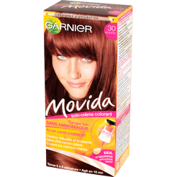 Coloration crème ton sur ton MOVIDA, acajou n°30