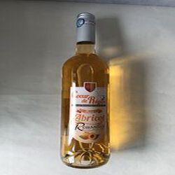 Boisson aromatisée à base de vin Blanc Abricot de Roussillon VINS ET FRUITS