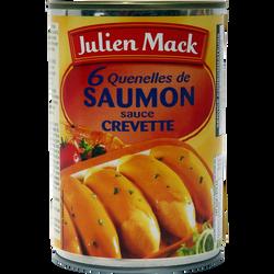 Quenelles de saumon sauce crevette JULIEN MACK, boîte de 1/2