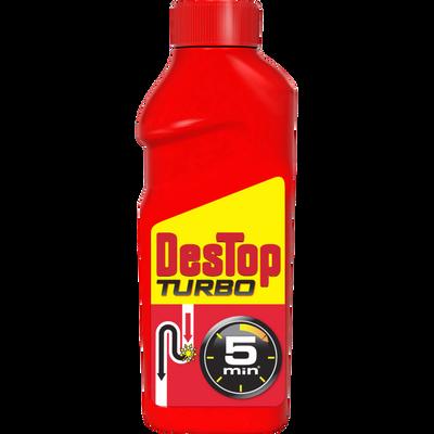 Gel déboucheur Turbo super concentré DESTOP,  500ml