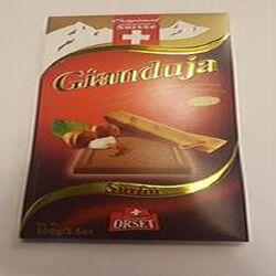 Chocolat au lait aux noisettes Gianduja et feuillantine, ORSET