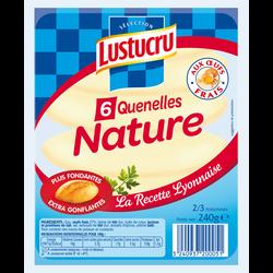 Quenelles nature LUSTUCRU Sélection, 6 pièces, 240g