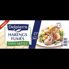 Delpierre Filets De Harengs Allégés En Sel , 170g