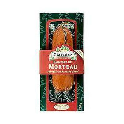 Saucisse de Morteau cuite CLAVIERE, 250g