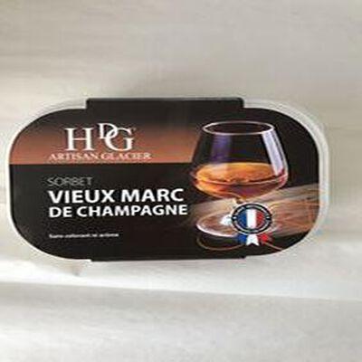 Sorbet vieux marc de champagne GINEYS