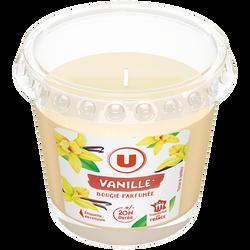 Bougie parfumée vanille U 90g