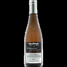 Coteaux d'Ancenis Malvoisie AOC blanc Hommage à Mr Louis, bouteille de75cl